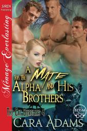 A Mate for the Alpha and His Brothers [The Cat Burglars 4]