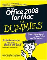 Office 2008 for Mac For Dummies PDF