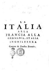La Italia alla Francia alla Germania, et alla Inghilterra canzone de Zorastro Pacuuio