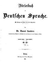 Wörterbuch der deutschen Sprache: Band 3