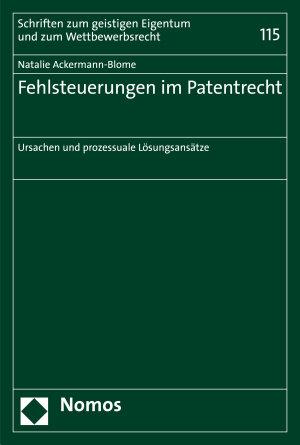 Fehlsteuerungen im Patentrecht PDF