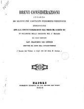 Brevi considerazioni intorno ad alcuni piu costanti fenomeni vesuviani memoria letta al R. Istituto d'Incoraggiamento nella tornata del 14 giugno 1855 in occasione della eruzione del 1. maggio dal socio ordinario cav. Francesco Del Giudice