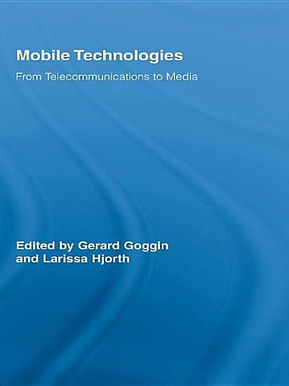 Mobile Technologies PDF