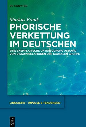Phorische Verkettung im Deutschen PDF