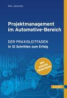 Projektmanagement im Automotive Bereich PDF