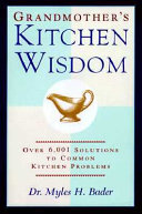 Grandmother s Kitchen Wisdom Book