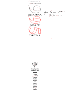 Britannica Book of the Year PDF