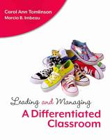 Leading and Managing a Differentiated Classroom PDF
