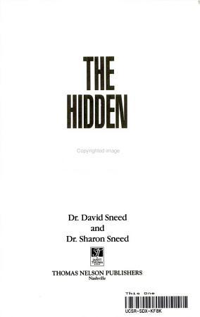 The Hidden Agenda PDF