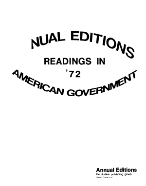 Readings in American Government PDF
