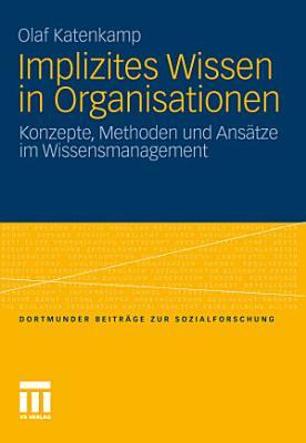 Implizites Wissen in Organisationen PDF
