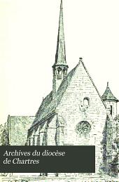 Archives du diocèse de Chartres: Volume4