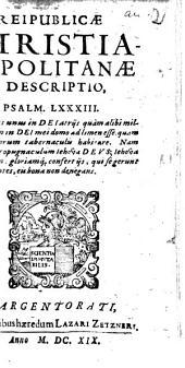 Reipublicae Christianopolitanae Descriptio