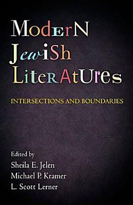 Modern Jewish Literatures PDF