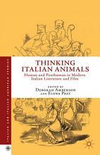 Thinking Italian Animals PDF
