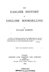 Earlier History of English Bookselling