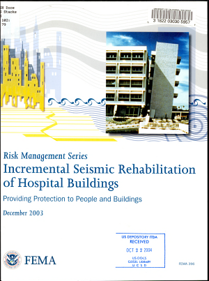 Incremental Seismic Rehabilitation Of Hospital Buildings