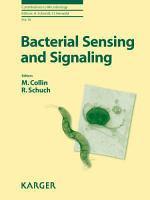 Bacterial Sensing and Signaling PDF