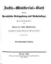 Deutsche justiz: rechtspflege und rechtspolitik ... Amtliches blatt der deutschen rechtspflege, Band 29