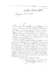 Lettre de condoléances au sujet de la mort de Jos. Guislain