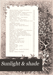 Sunlight & Shade: Being Poems & Pictures of Life & Nature ...