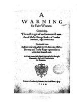 A Warning for Faire Women PDF