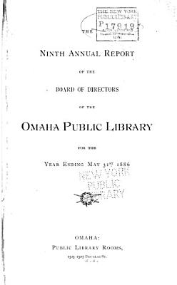 Annual Report of the Board of Directors of the Omaha Public Library PDF