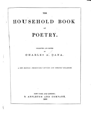 The Household Book of Poetry PDF