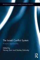 The Israeli Conflict System PDF