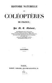 Histoire naturelle des coléoptères de France: Palpicornes