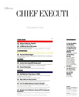 Chief Executive