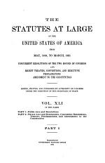 The Statutes at Large of the United States
