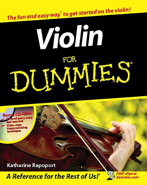 Download Violin For Dummies Book
