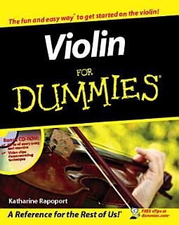 Violin For Dummies Book