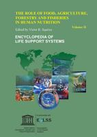 The Role of Food  Agriculture  Forestry and Fisheries in Human Nutrition   Volume II PDF