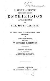 Enchiridion ad Laurentium de fide, spe et caritate
