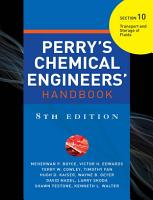 PERRY S CHEMICAL ENGINEER S HANDBOOK 8 E SECTION 10 TRANSP STORAGE FLUIDS  POD  PDF
