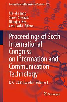 Proceedings of Sixth International Congress on Information and Communication Technology PDF