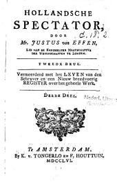 Hollandsche spectator: Volume 3