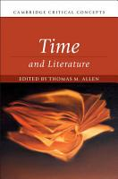 Time and Literature PDF