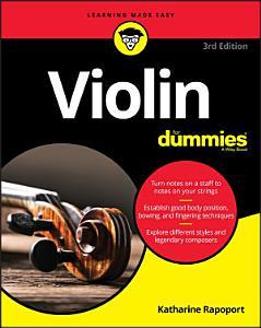 Violin For Dummies PDF