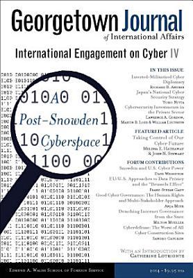 Georgetown Journal of International Affairs  Cyber IV PDF