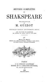 Œuvres complètes de Shakspeare: Mesure pour mesure. Othello. Comme il vous plaira. Le conte d'hiver. Troilus et Cressida