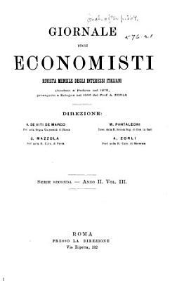 Giornale degli economisti PDF
