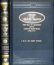Voyage to the Isle of France  the Isle of Bourbon  and the Cape of Good Hope  1768 1771 PDF