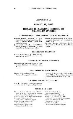 Proceedings of the Board of Regents