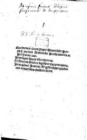 Questiones super Universalia Porphyrii nec non Aristotelis Praedicamenta ac Peryarmenias: Item super libros Elenchorum