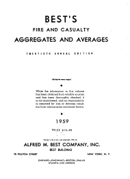 Best s Fire and Casualty Aggregates   Averages PDF