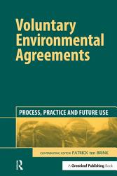 Voluntary Environmental Agreements Book PDF