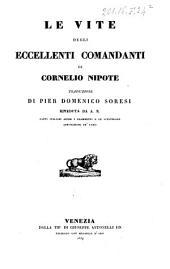 Le vite degli eccellenti comandanti di Cornelio Nipote